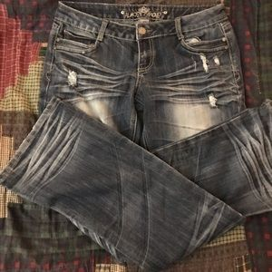 Almost Famous Jeans 'Distressed' Size 13